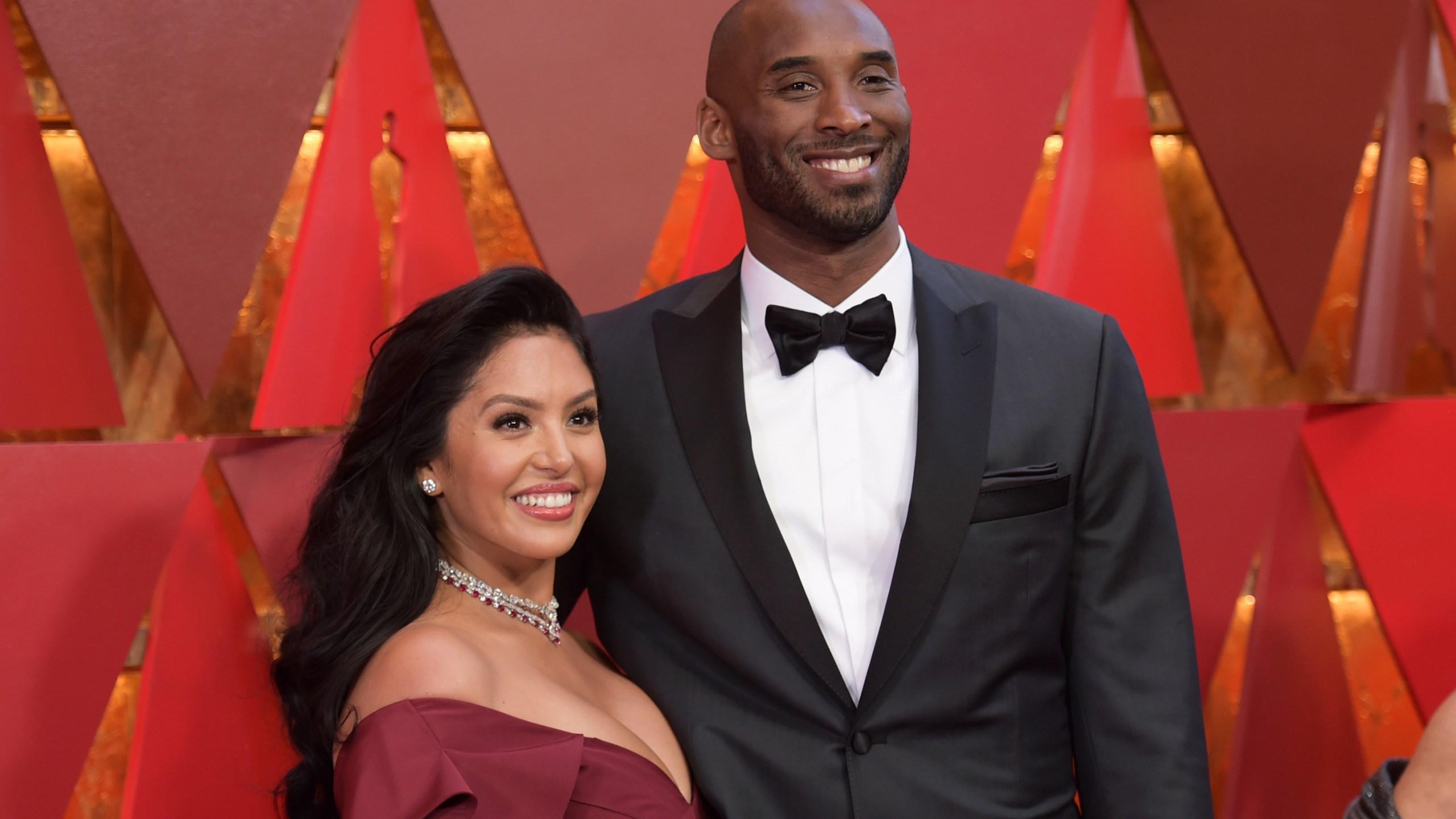 Vanessa Laine Bryant, Kobe Bryant
