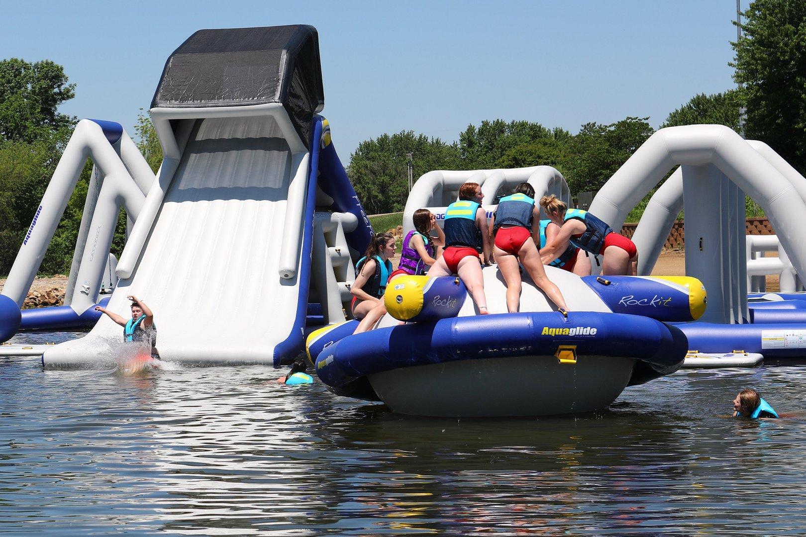 Lake Shawnee Adventure Cove To Open On Saturday Ksnt News