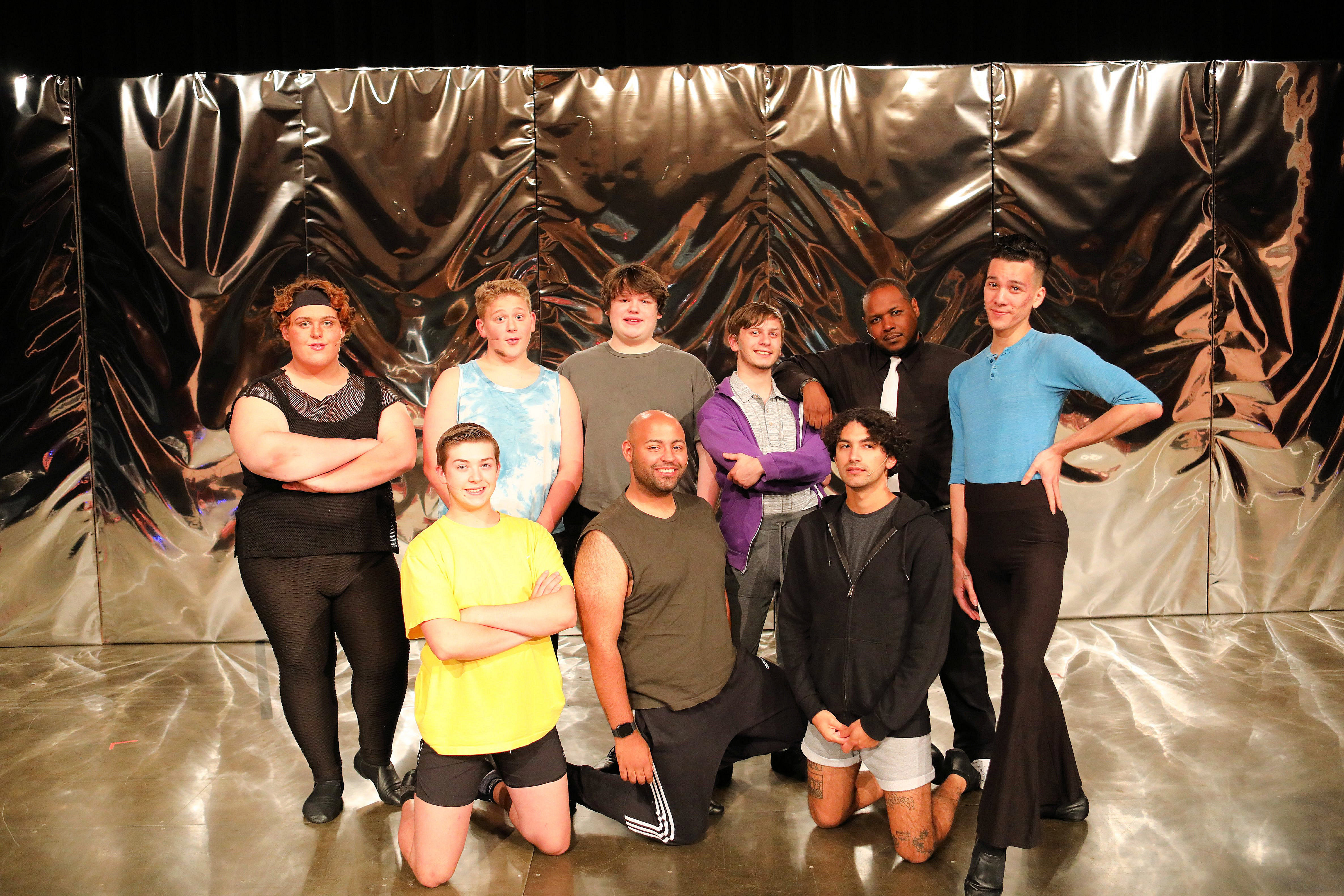 Curtains open on A Chorus Line at Topeka Performing Arts Center